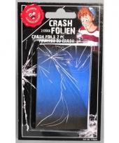 Mobiel sticker gebroken glas