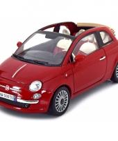 Model auto fiat 500 cabrio 1 18