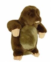 Mol knuffelbeest 17 cm