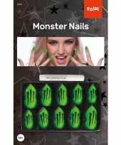 Monster kunstnagels set halloween