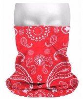 Morph sjaal boeren zakdoekprint