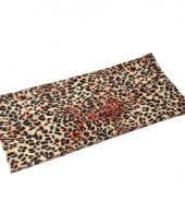 Morph sjaal luipaardprint