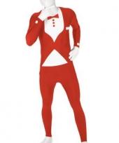 Morphsuit kostuum rood pak