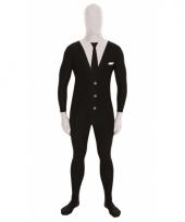 Morphsuit kostuum slenderman