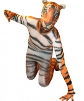 Morphsuit met tijger print