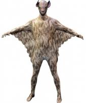 Morphsuit met vleermuizen print voor kids