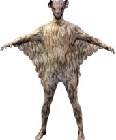 Morphsuit met vleermuizen print