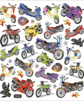 Motoren thema kinder stickers