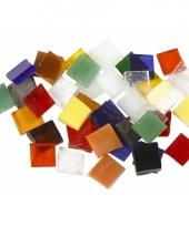 Mozaiek spiegel tegels rondjes 10x10 mm 10083544