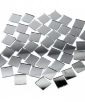 Mozaiek spiegel tegels vierkantjes 16x16 mm