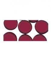 Mozaiek stenen rood rond
