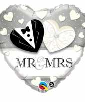 Mr and mrs hartjes folie ballon