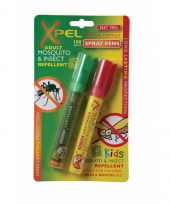 Muggenwerende spray pen met langdurige werking
