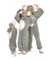 Muizen jumpsuit voor volwassenen