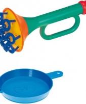 Multi bubbel bellenblaas trompet