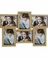 Multi foto frames voor 6 fotos 44 x 30 cm