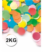 Multicolor confetti 2 kilo brandvertragend