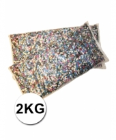 Multicolor confetti zak 2 kilo