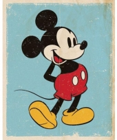 Muur decoratie mickey mouse