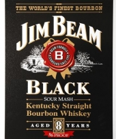 Muurdecoratie jim beam bourbon