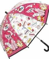 My little pony paraplu met pinkie pie voor meisjes