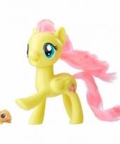 My little pony speelfiguur paardje fluttershy 7 cm