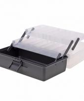 Naaigaren opberg box antraciet 30 cm