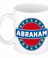 Naamartikelen abraham mok beker keramiek 300 ml