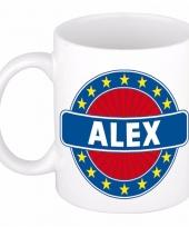 Naamartikelen alex mok beker keramiek 300 ml