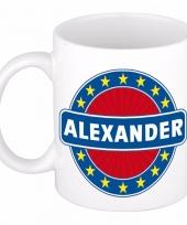 Naamartikelen alexander mok beker keramiek 300 ml