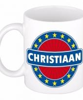 Naamartikelen christiaan mok beker keramiek 300 ml