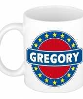 Naamartikelen gregory mok beker keramiek 300 ml