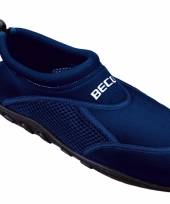Navy heren surf en waterschoenen