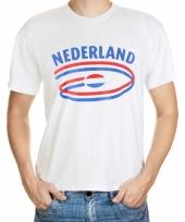 Nederlandse vlaggen t-shirts voor heren