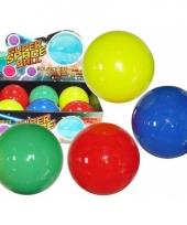 Neon kleur ballen 10 cm