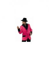 Neon roze colbert heren