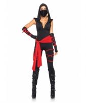 Ninja dames kostuum 5 delig