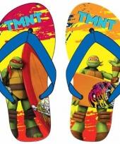 Ninja turtles kinder slippers raphael en michaelangelo