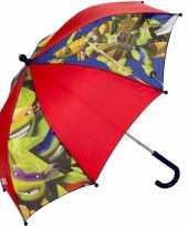 Ninja turtles kleine paraplu leonardo michaelangelo en donatello voor kids
