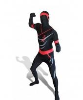 Ninja zentai carnavalskleding volw