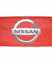 Nissan merchandise vlaggen 150 x 75 cm