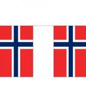 Noorwegen vlaggenlijn 9 m