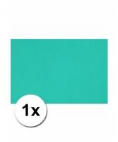 Oceaan blauw knutsel karton a4