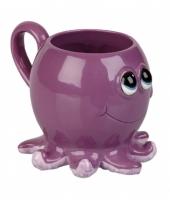 Octopus koffie thee mok 10 cm