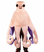 Octupus kostuum met tentakels