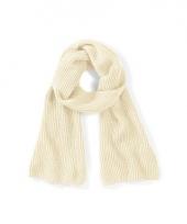 Off white beechfield sjaal 170 cm