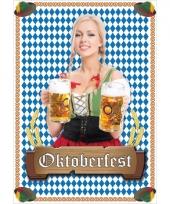 Oktoberfest thema mega deurposter
