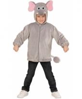 Olifant carnaval trui voor kinderen