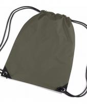 Olijf groene tasjes voor kinderen
