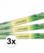 Ontspanning wierook cannabis 60 stuks